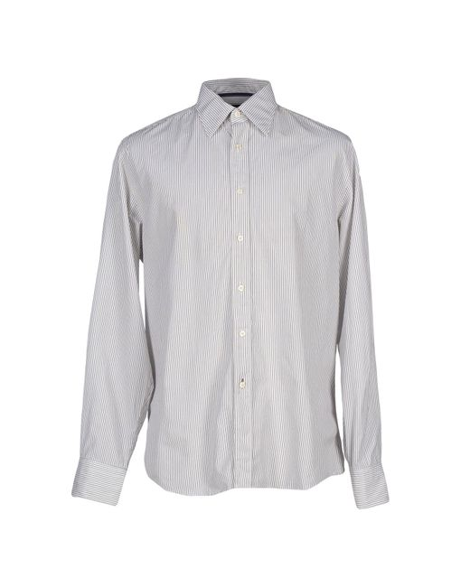 Jeckerson - Gray Shirt for Men - Lyst