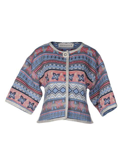 Shirtaporter Blue Blazer