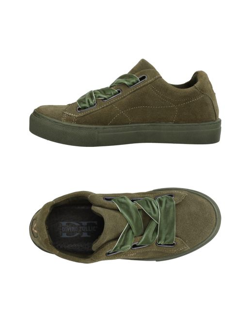 Divine Follie - Green Low-tops & Sneakers for Men - Lyst