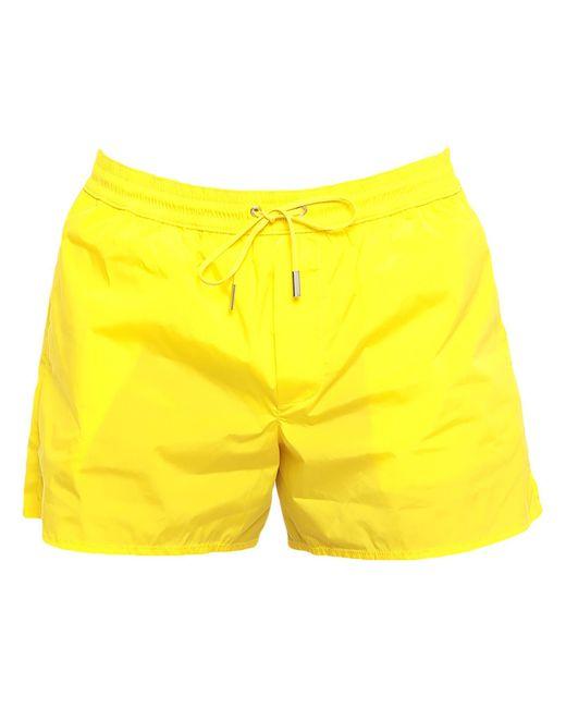 Boxer da mare di DSquared² in Yellow da Uomo