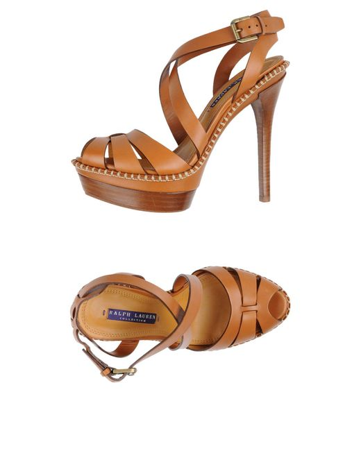 Ralph Lauren Collection - Multicolor Sandals - Lyst