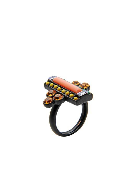 Lulu Frost   Black Ring   Lyst
