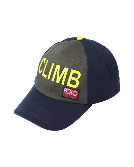 208f9b47344 Polo Ralph Lauren - Blue Hat for Men - Lyst ...