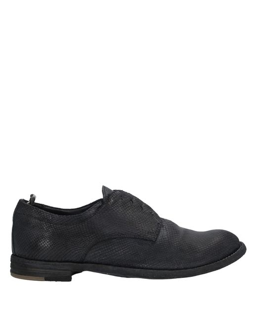 Zapatos de cordones Officine Creative de color Black