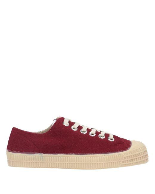 Novesta Sneakers & Deportivas de hombre de color rojo