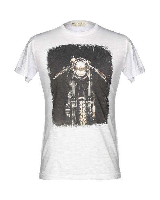 Athletic Vintage White T-shirt for men