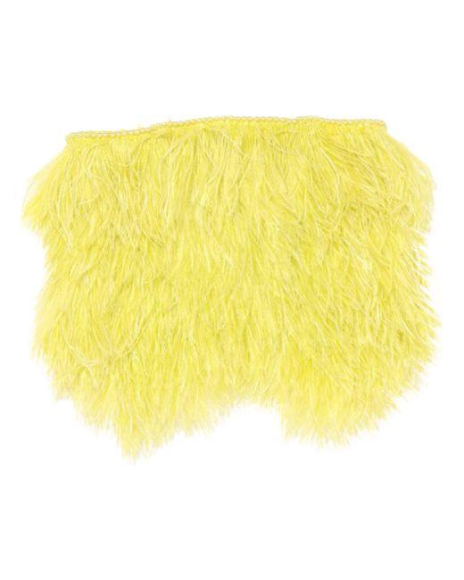 Top a fascia di The Attico in Yellow