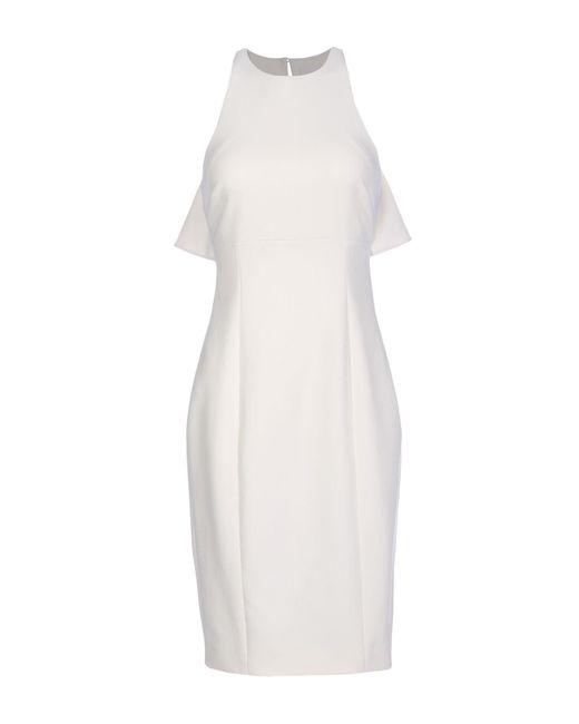 Cinq À Sept White Knee-length Dress