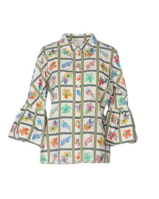 Stella Jean White Shirt