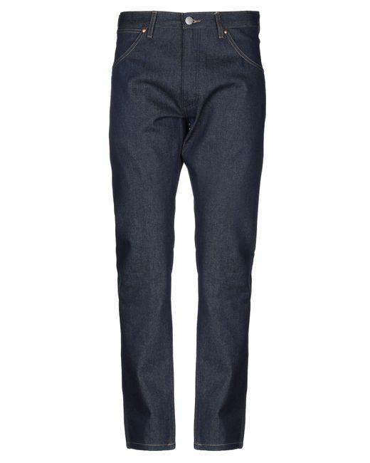 Wrangler Blue Denim Pants for men