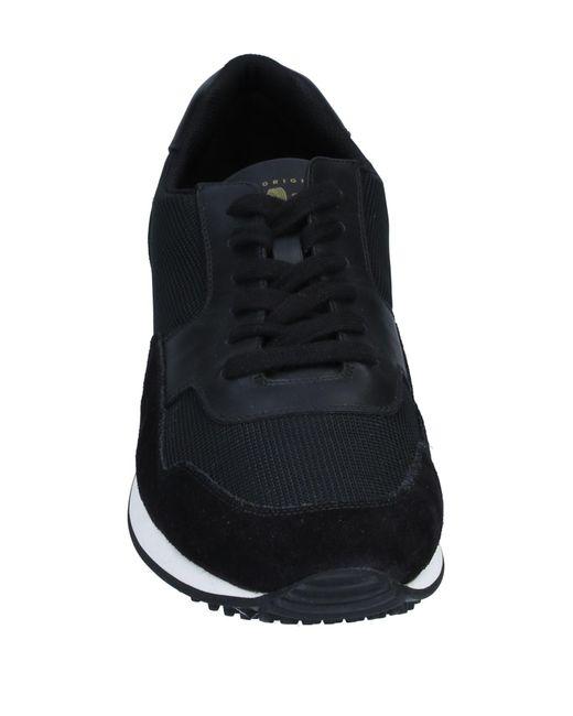 Car Shoe Black Low-tops & Sneakers for men