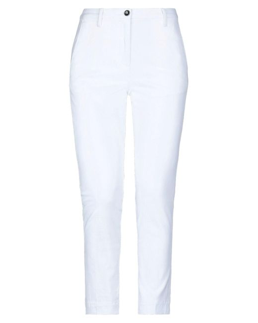 Nine:inthe:morning White Casual Trouser