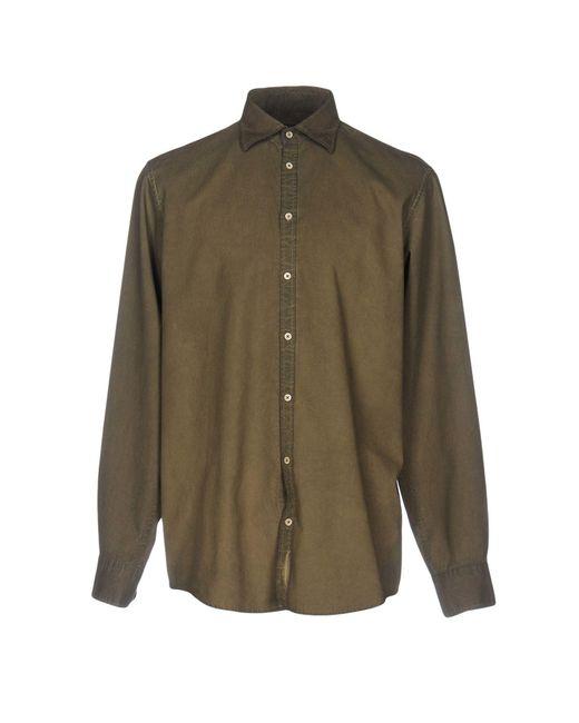 Massimo Alba | Green Shirt for Men | Lyst
