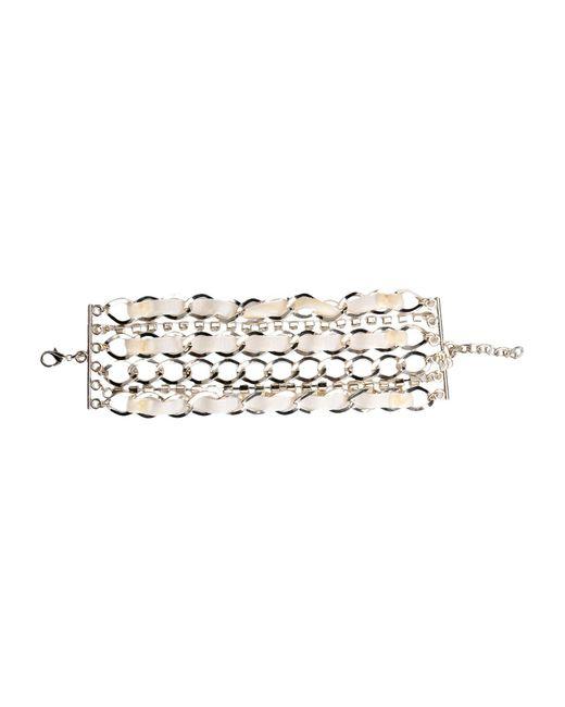 Twin Set - Natural Bracelet - Lyst