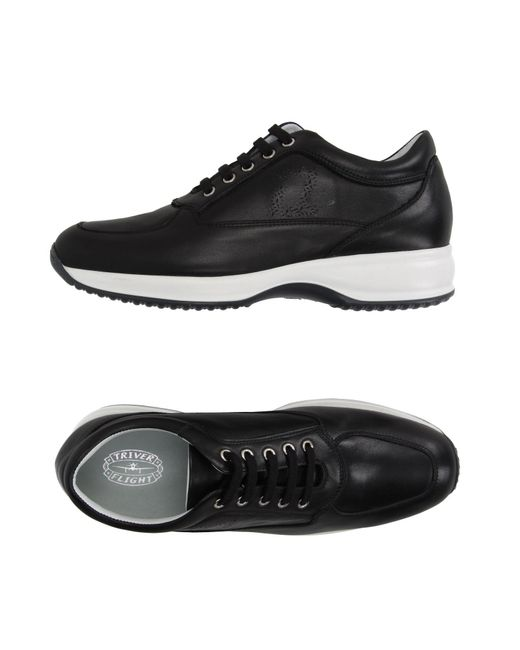 Triver Flight Black Low-tops & Sneakers