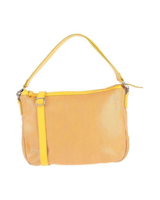 Caterina Lucchi Yellow Handbag