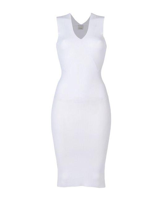 Pinko Vestido por la rodilla de mujer de color blanco