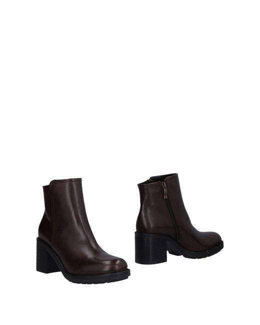 Mally - Brown Ankle Boots - Lyst