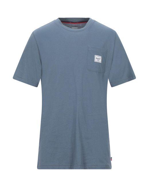Herschel Supply Co. Blue T-shirt for men