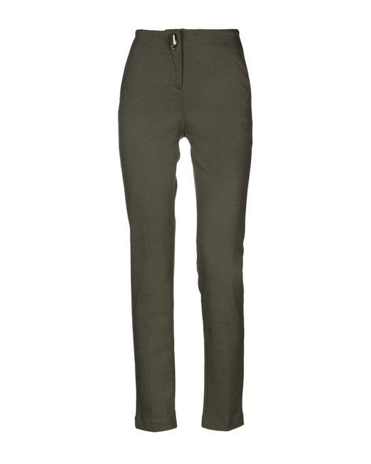 Class Roberto Cavalli - Green Casual Pants - Lyst