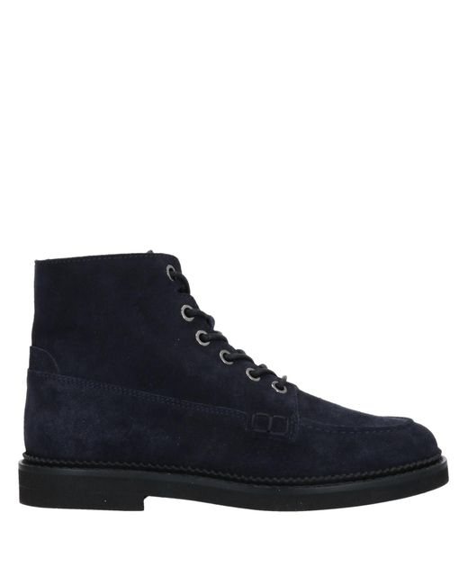 Tod's Blue Stiefelette