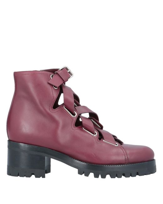 Bottines Valentino Garavani en coloris Purple
