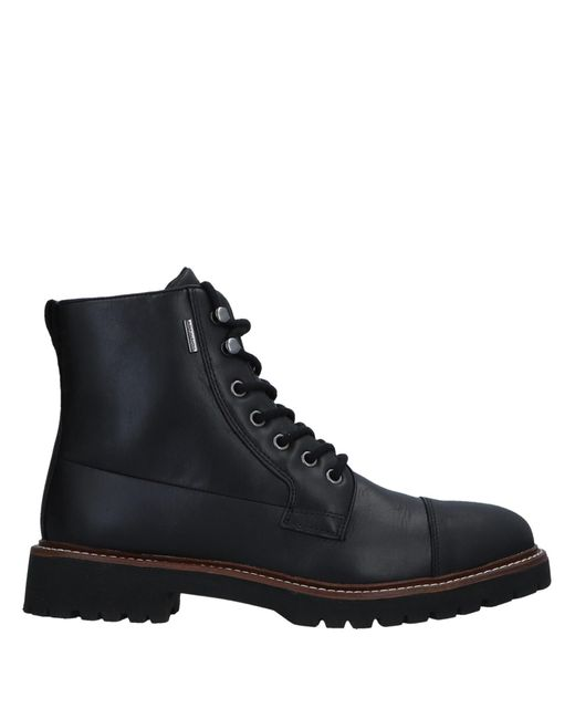 Geox Black Ankle Boots for men