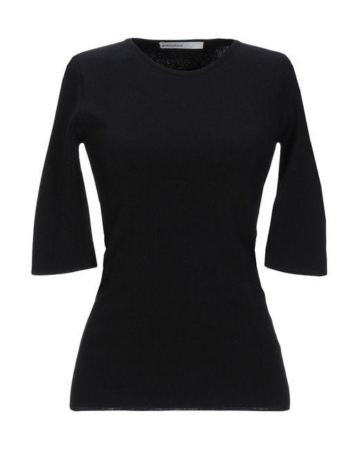Gentry Portofino Pullover de mujer de color negro KVjHe
