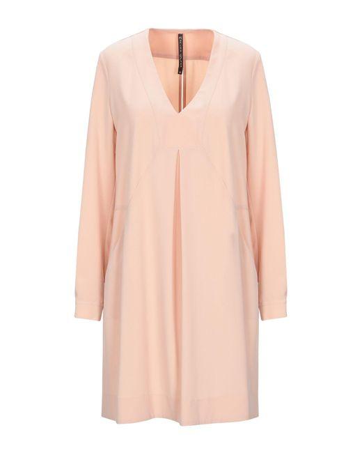 Manila Grace Pink Kurzes Kleid