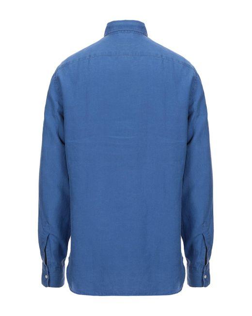 Chemise Aspesi pour homme en coloris Blue
