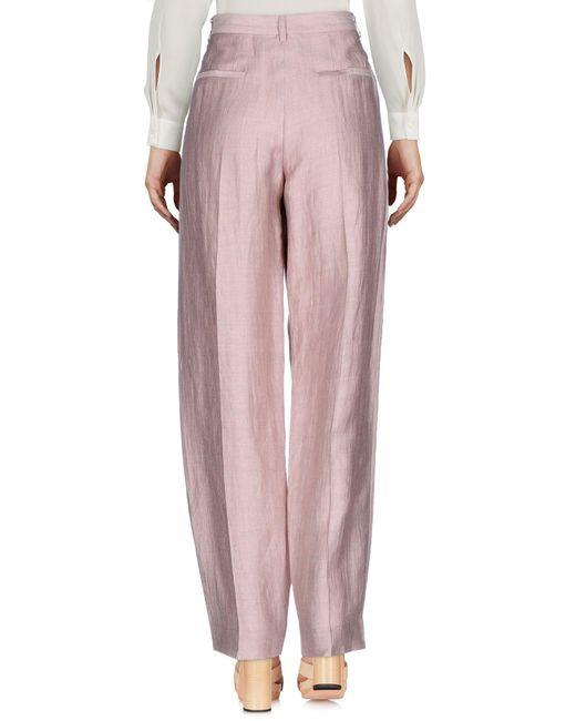 Pantalones Emporio Armani de color Pink