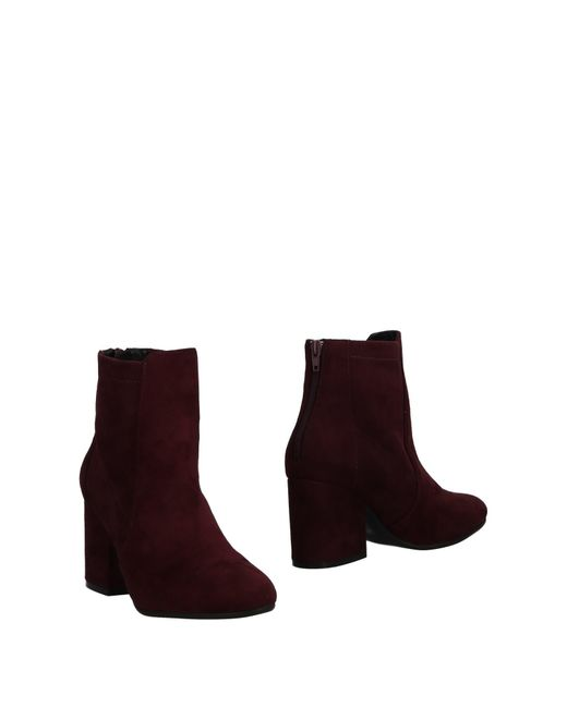 Albano - Purple Ankle Boots - Lyst