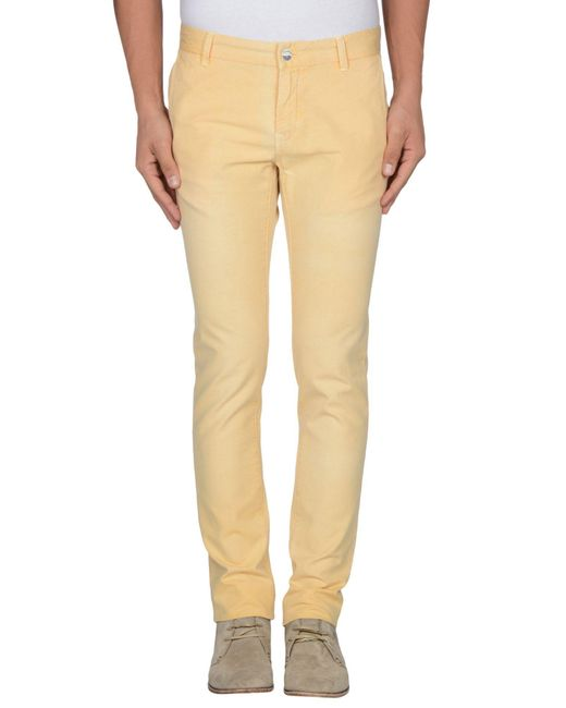 AT.P.CO - Pink Casual Pants for Men - Lyst