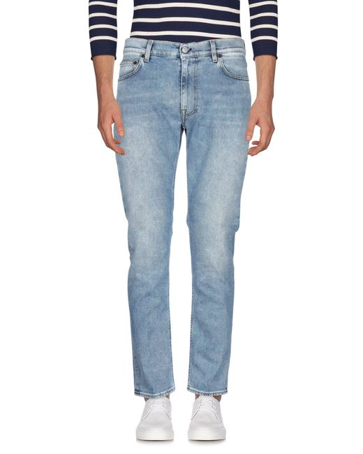 Pantalon en jean Mauro Grifoni pour homme en coloris Blue