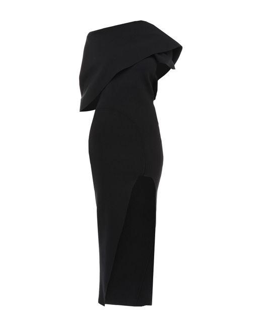 Rick Owens Black Langes Kleid