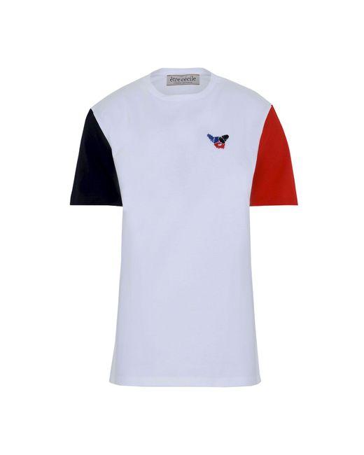 Être Cécile White T-shirt