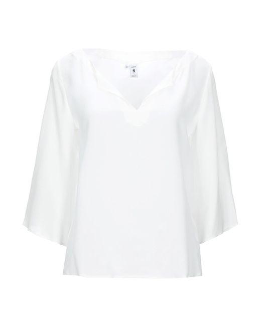 Blusa European Culture de color White