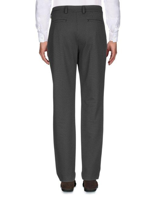 Paolo Pecora Pantalon homme de coloris gris