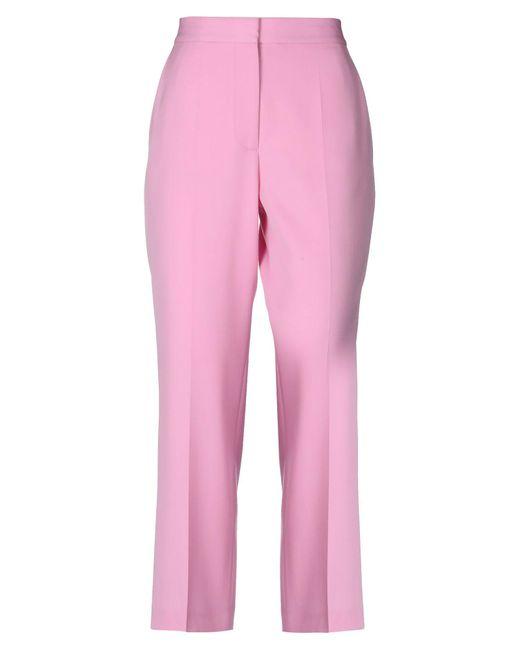 Pantalon Stella McCartney en coloris Pink