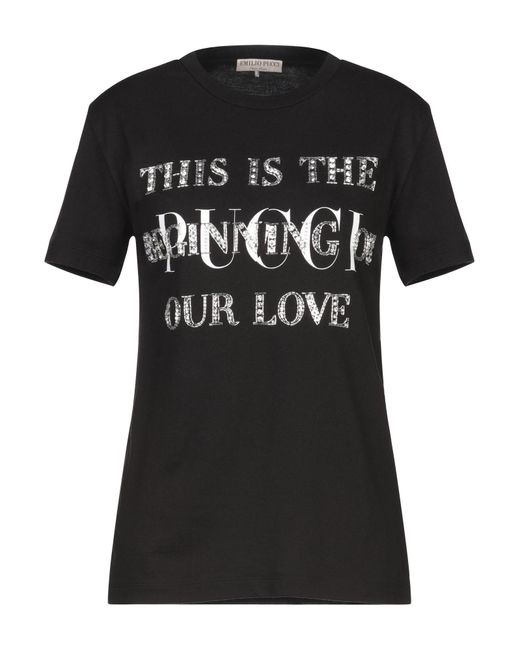 Emilio Pucci Black T-shirt