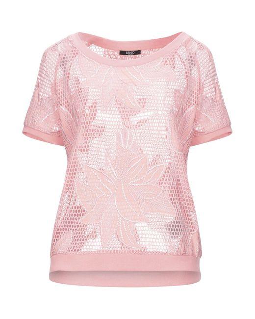 Liu Jo Pink Sweatshirt
