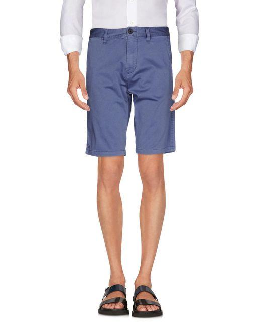 Armani Jeans - Blue Bermuda Shorts for Men - Lyst