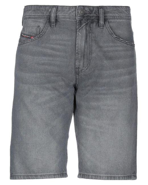 DIESEL Jeansbermudashorts in Gray für Herren