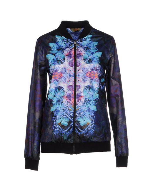 Fifteen & Half   Purple Jacket   Lyst