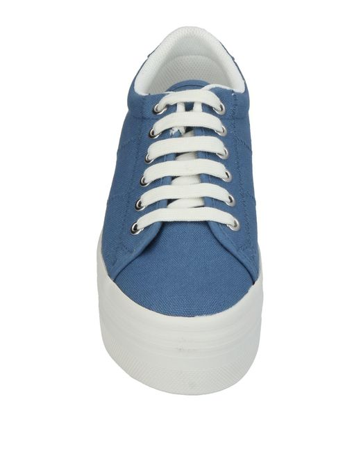 Jeffrey Campbell Blue Low-tops & Sneakers