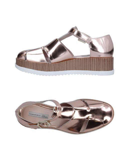 Tosca Blu | Pink Sandals | Lyst