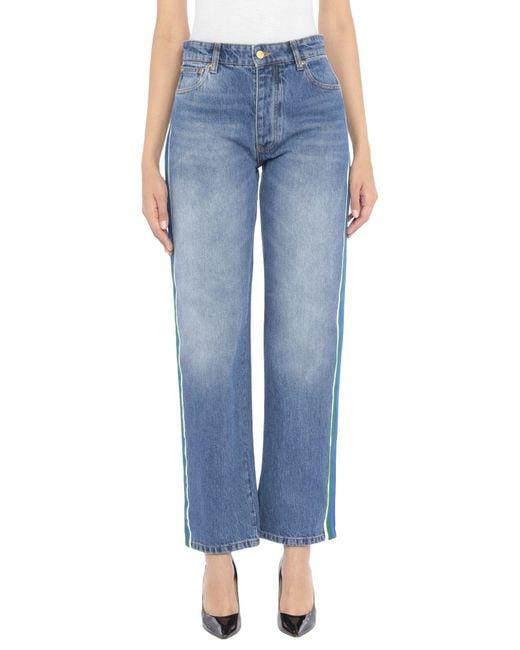 Pantalon en jean Victoria, Victoria Beckham en coloris Blue