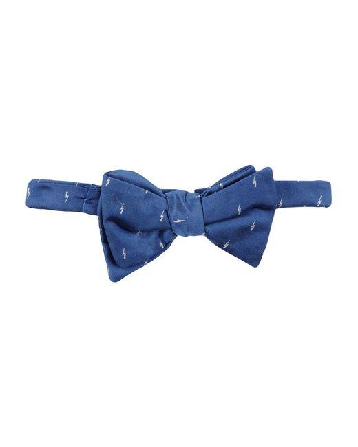 Neil Barrett - Blue Bow Tie for Men - Lyst