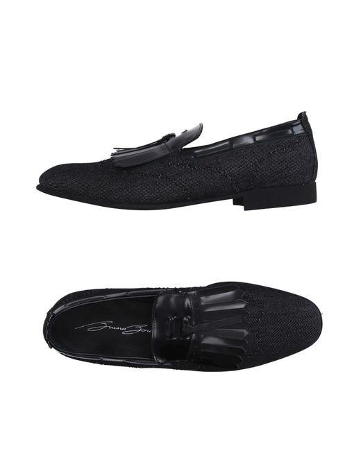 Bruno Bordese - Black Loafer for Men - Lyst