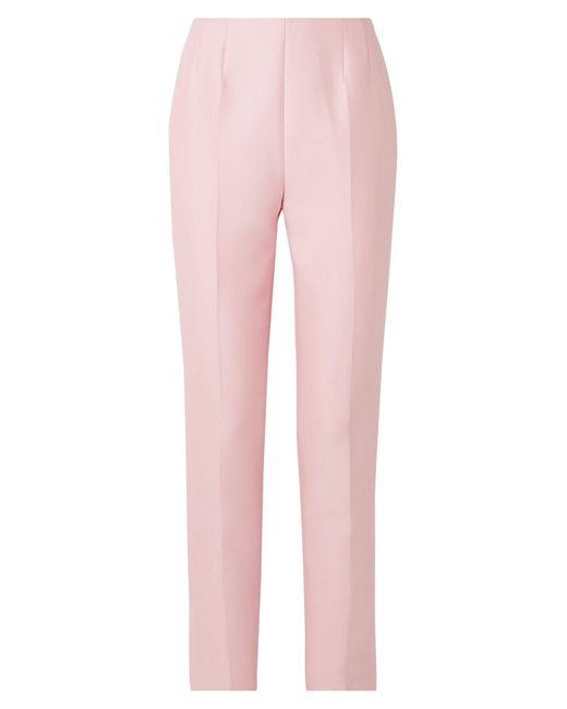 Gabriela Hearst Pantalones de mujer de color rosa